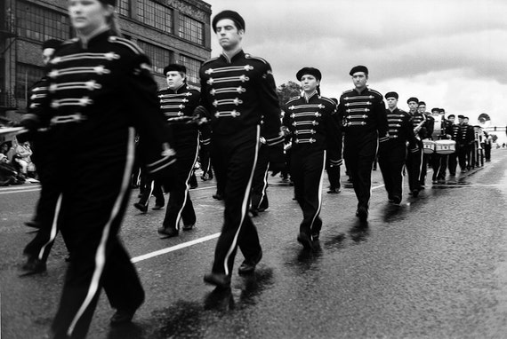 Concentration 16 x 24 signed Giclee gallery wrapped canvas photo - limited edition band parade perspective portland oregon