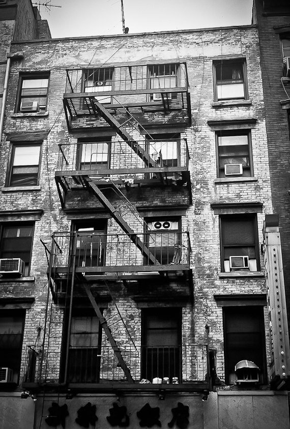 Industrial Nyc Photography Urban City Scene Decor Nyc Flat