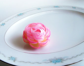 Vintage 1950s Style House Corsage Oval Serving Platter