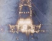 """Vintage Real Photograph Postcard - """"Welcome Light Display,"""" circa 1905 - 1909"""