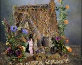 1:12 Scale Beloved Fairy Dollhouse Wind's End Cottage For Immediate Purchase