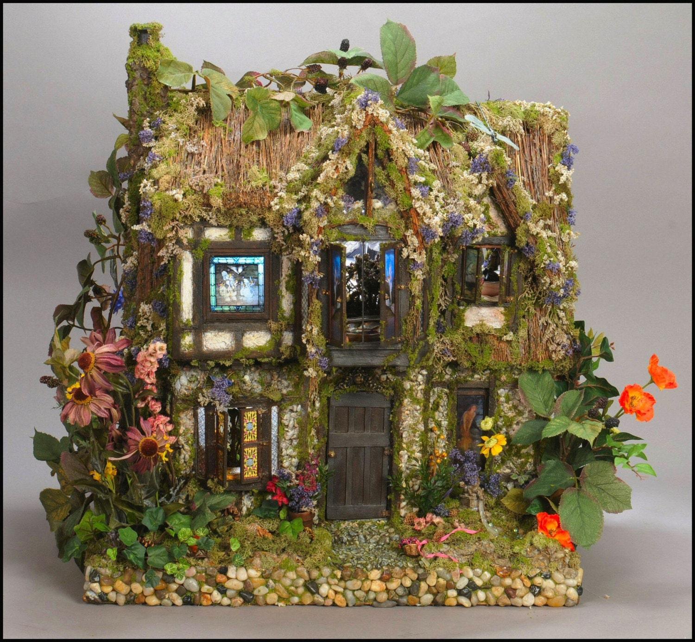Items Similar To Poppy S Cottage Ii Fairy Dollhouse Custom