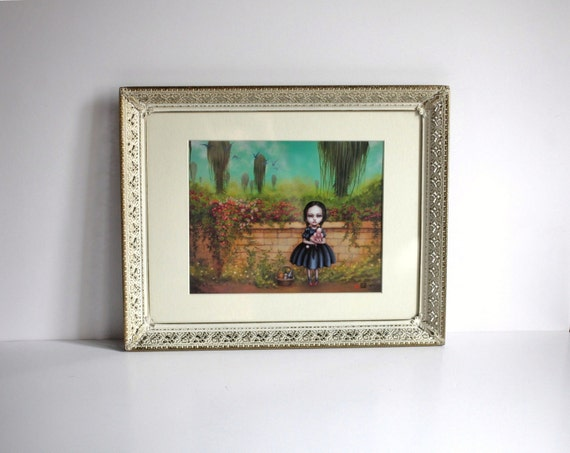 Dorothy Darkly - Limited Edition signed and numbered 8x10  Fine Art Print - in vintage frame