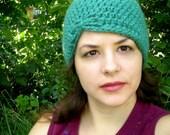 Crochet Pattern - Flapper Beanie - Lillian