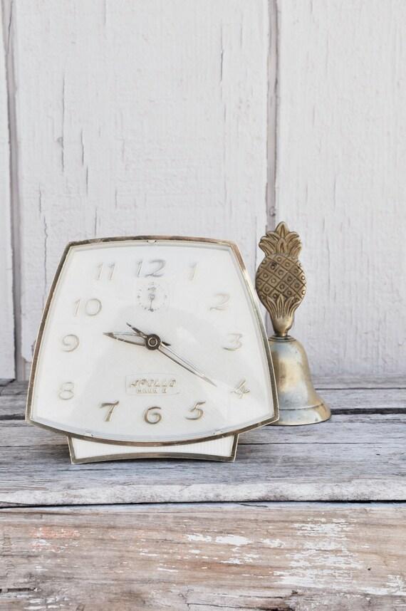 Gold and Cream Apollo Mark II Alarm Clock, Lux Edition