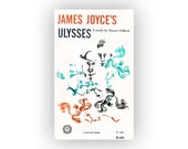 "Leo Lionni book cover design, 1952. ""James Joyce's Ulysses"" by Stuart Gilbert"