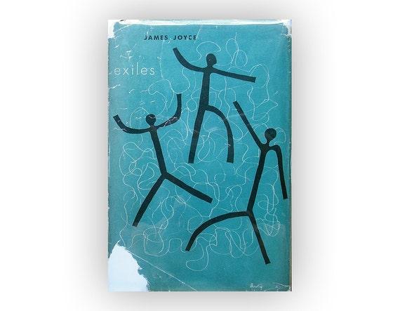 "Alvin Lustig book jacket design, 1945. ""Exiles"" by James Joyce"