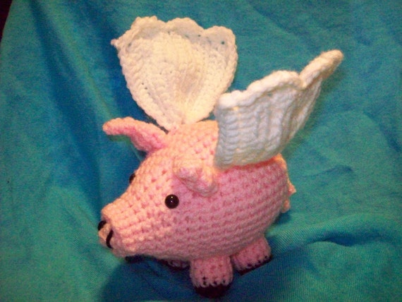 Pigasus The Flying Pig - PATTERN