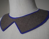 Alice Collar Necklace: ELECTRIC VIOLET & SUITING