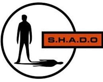 "Free shipping UFO SHADO PATCH 3""x4"""