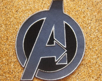 "Free shipping AVENGERS ASSEMBLE PATCH 9x11.5cm 3.5"" X 4.5"""