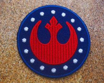 Free shipping STAR WARS Rebel Alliance Patch Badge 7.5x7.5 CM