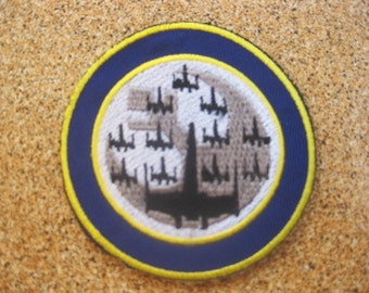 Free shipping STAR WARS X-WING Rebel Squadron Patch Badge 7.5x7.5cm