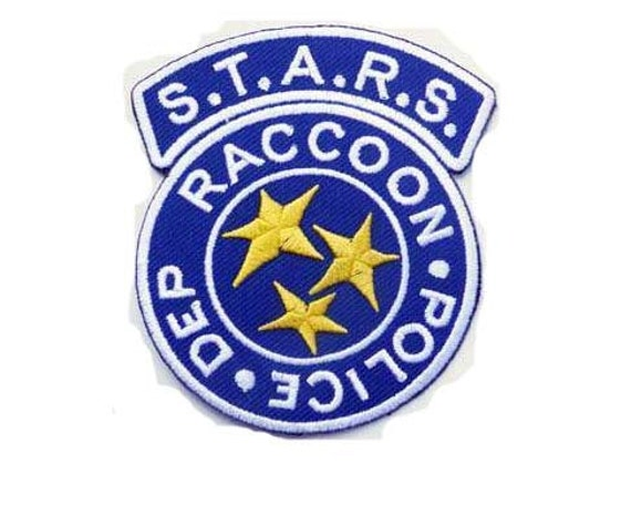 Free shipping RESIDENT EVIL S.T.A.R.S Patch Badge 6.5x8cm