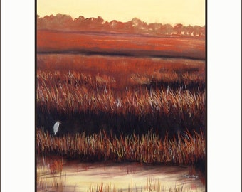 Southern Marsh - All My World, 11 x 14