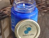 Blueberry Cobbler Natural Soy Jar Candle