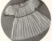 Child's Dream Dress - Instant Download Digital File - Vintage Crochet Pattern - Pattern 84