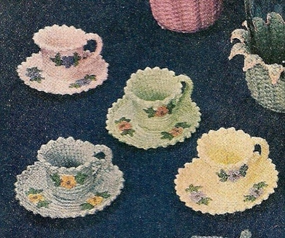 Antique Crochet Patterns : ... Instant Download Digital File -Vintage Crochet Pattern - Pattern 71