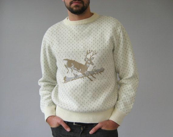 Deer Graphic Sweater