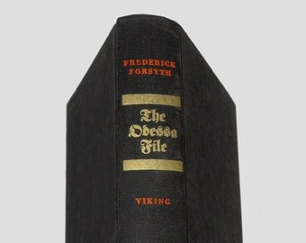 The Odessa File, Collectible Book, Vintage Books, War Book, Concentration Camps by NewYorkBookseller on Etsy