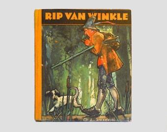 Rip Van Winkle, Vintage Rip Van Winkle Book, Vintage Classic Book, Collectible Book, Vintage Books by NewYorkPaperTrail on Etsy