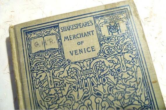 when merchant venice written - photo#29
