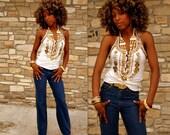 Vintage Jeans 80s Aura XS