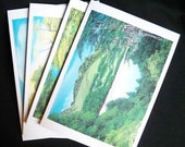 A set of 4 Large Cards of Oil Landscapes by Warwick Madden