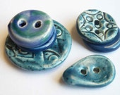 I've got the Blues Ceramic Buttons