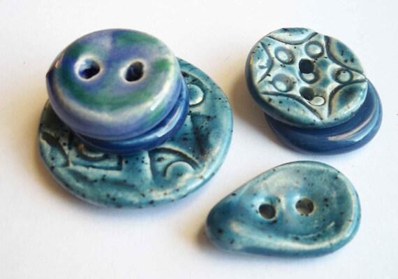 I've got the Blues Ceramic Buttons
