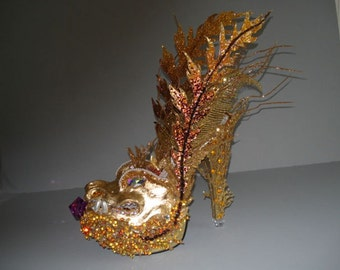 Lady Ga-Goyle shoe