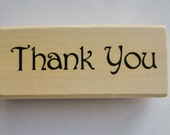 Rubber Stamp Thank You stamp by Anitas