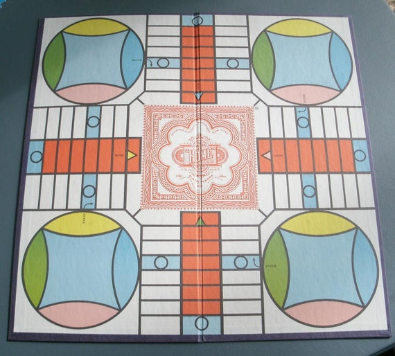 Vintage Game Board 1982 Parcheesi
