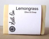 Lemongrass Olive Oil Soap - Handmade Natural Soap