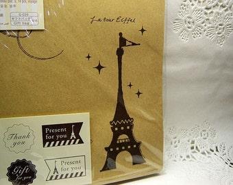 La Tour Eiffel Small gift bags (set of 14)
