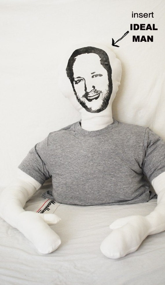 Ideal Man MANLLOW half man. half pillow. CUSTOMIZABLE VERSION