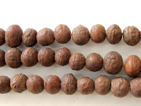 Natural genuine small size Bodhi seed beads - 30 beads