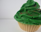 Eggnog Frosted Cupcake - Soap