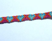 SALE - Multi colored Heart Friendship Bracelet