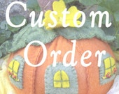 CUSTOM ORDER - (Especially for Donna)
