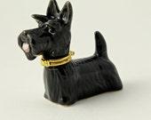 Scotty Dog Ceramic Hinged Box