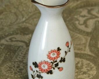 Vintage OMC Porcelain Sake Pitcher Bottle