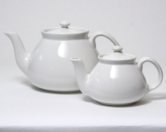 Hall Teapot in White - 2 Cup - New York Style