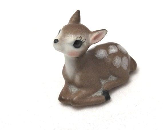 Baby Fawn Deer Figurine by Josef Originals