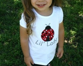 Little Lady Shirt Only (Long or short sleeved)