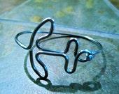 Anchor Bicycle Spoke Bracelet
