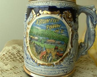 Souvenir Stein -Frontier Town, N.Y.