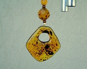 Amber Delight Wind Chime Sun Catcher