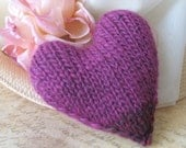 My Little Heart Knitting Pattern for Valentine's Day