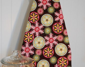 Ironing Board Cover - Michael Miller Carnival Bloom in Brown